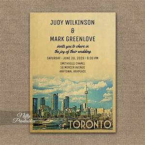 toronto wedding invitation printed nifty printables With wedding invitation kits toronto