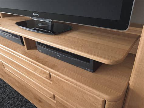 Tv Aufsatz Holz Sideboard Mit Drei Schubk 228 Sten Und Zwei T 252 Ren In Massivholz