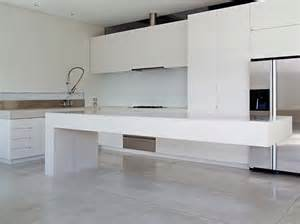 kitchen island bench designs property polished concrete benchtops pictures