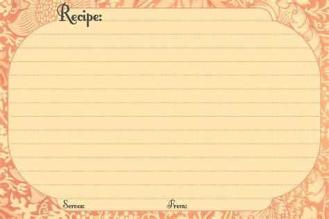 recipe card template free printable recipe cards call me