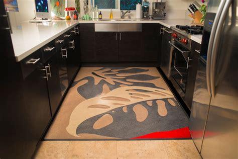Kitchen Floor Mats Houzz by Linoleum Rugs Modern Kitchen San Francisco By