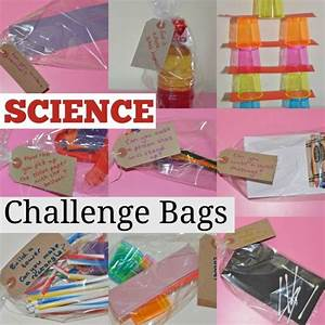 Science Challenge Bags | Science stations, Bag and Activities