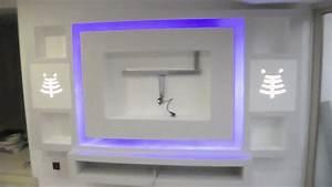comment fabriquer un meuble tv en placo mobilier design With fabriquer meuble en placo
