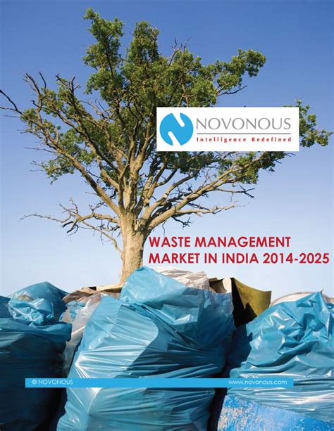 waste management market  india   billion