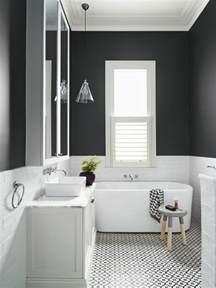 Carrelage Salle De Bain Sol Noir by Vous Cherchez Des Id 233 Es Pour Un Carrelage Noir Et Blanc