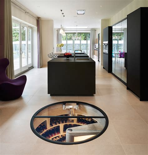spiral wine cellar in kitchen floor gallery spiral cellars 9374