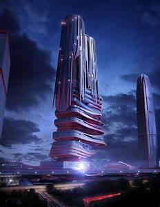 eVolo 2014 – futuristic skyscraper | flyingArchitecture ...
