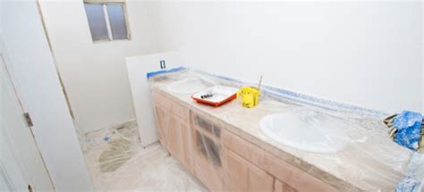 How To Install Bathroom Countertop - how to install a solid surface bathroom countertop