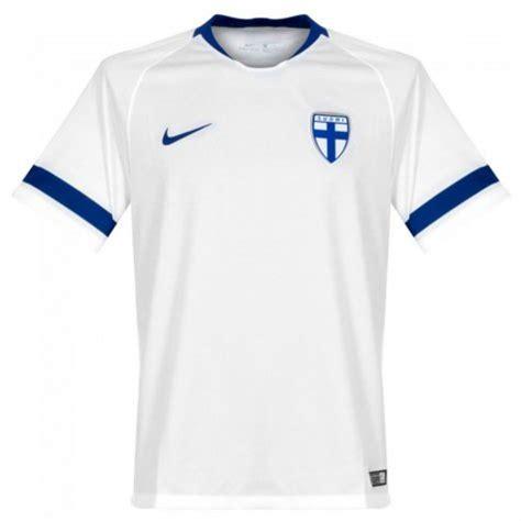 finland home nike football shirt