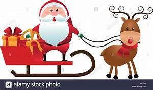 Reindeer Sledge Stock Photos & Reindeer Sledge Stock ...