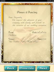 Download wedding invitation cards maker for pc for Wedding invitation maker for pc