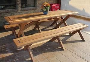DIY Picnic Table - 5 You Can Make in a Weekend - Bob Vila