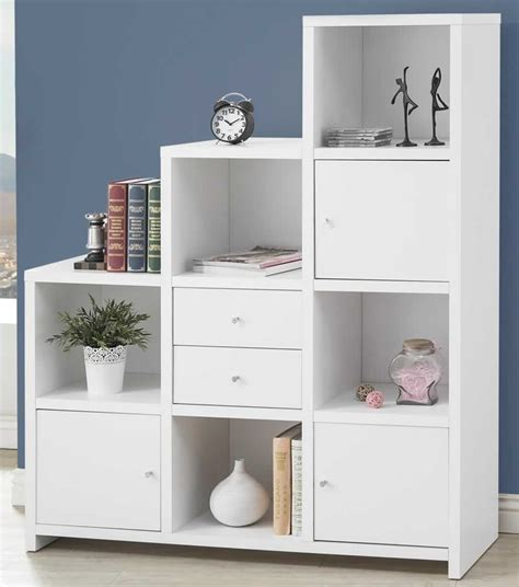 Cheap White Bookcases by Discount Furniture Warehouse White Bookcase