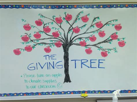 giving tree preschool the giving tree for back to school donations on open house 946