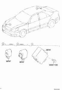 2004 Toyota Camry Le Receiver  Door Control