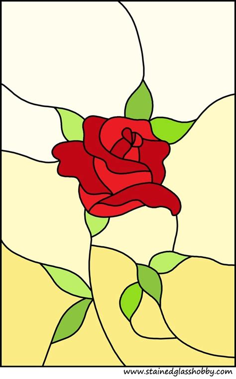 stained glass l patterns free coloring pages of stained glass rose
