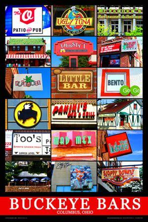 barnes and noble osu ohio state bars buckeyebarposters s