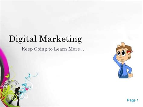 learn digital marketing free digital marketing types