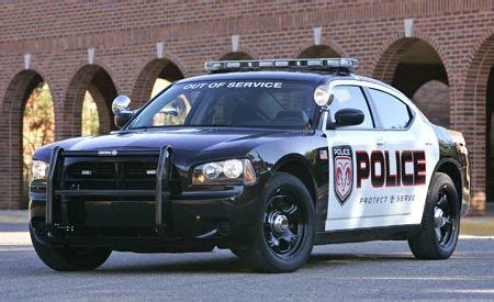 dodge charger police package short  road test