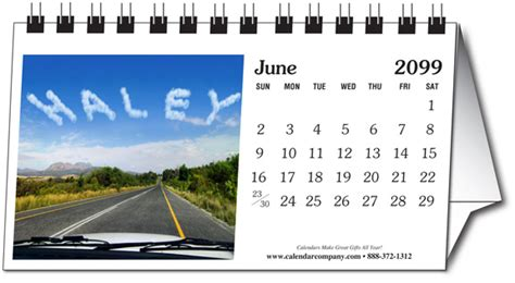 personalized photo small desk calendar calendar company