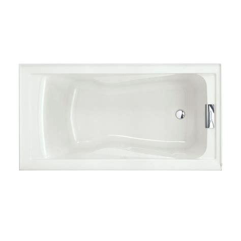 evolution tub american standard evolution 5 ft right drain bathtub in