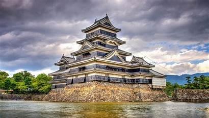 Matsumoto Nagano Castle Japan Castelli Giapponesi Dei