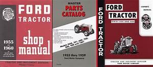 1955 800 Series Tractor 3 Manual Reprint Set