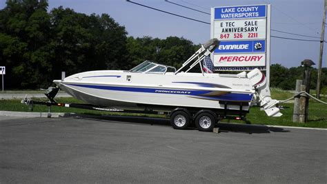 Princecraft Deck Boat Craigslist by Princecraft Ventura 220 Ws Boat For Sale From Usa