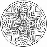 Coloring Mandala Sheets sketch template