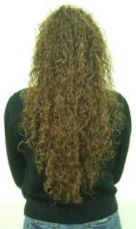 Tight Spiral Perm Long Hair