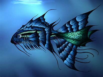 Fish 3d Wallpapers Desktop Backgrounds Background Watching