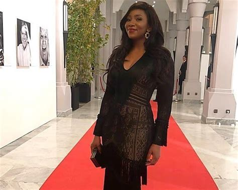 See How Actress Genevieve Nnaji Stepped Out For Screening