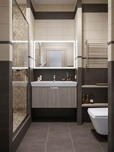 Petite Salle De Bain Design : d co appartement petit espace id es design et modernes ~ Dailycaller-alerts.com Idées de Décoration