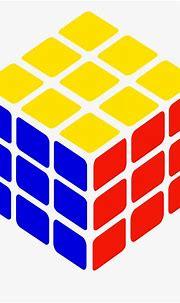 S Cube Simple Petr - Rubik's Cube Clip Art , Free ...