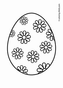 Easter coloring pages, Easter eggs coloring pages for kids ...