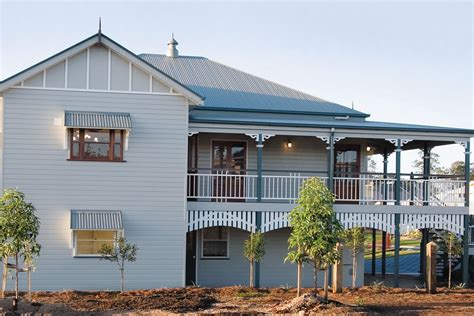 Classic Alum Home Design Renovation by At Home With Heritage Classic Queenslander Design