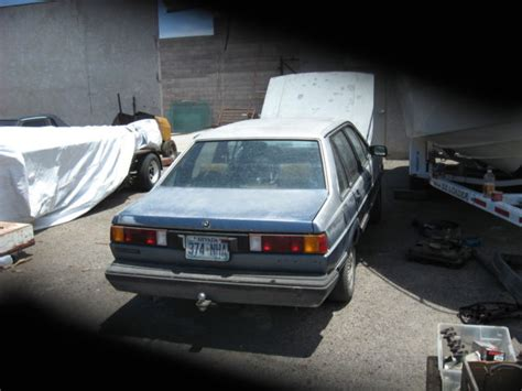 automobile air conditioning repair 1984 volkswagen quantum parental volkswagen other sedan 1985 blue for sale wvwfb0320fe058638 1985 volkswagen quantum gl 5 2 2