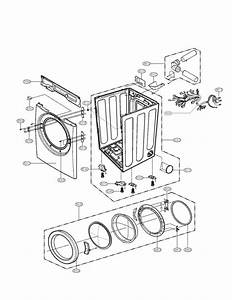Cabinet And Door Assembly Parts Diagram  U0026 Parts List For