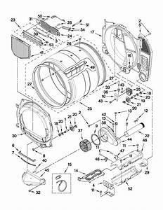 Whirlpool Model Wed9151yw0 Residential Dryer Genuine Parts