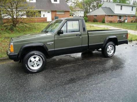 Purchase Used 1986 Jeep Comanche Mj Pickup 4x4 V6 5 Spd