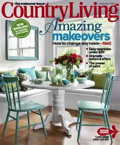 kitchen islands with drop leaf our 48 table on cover of country living magazine ecustomfinishes