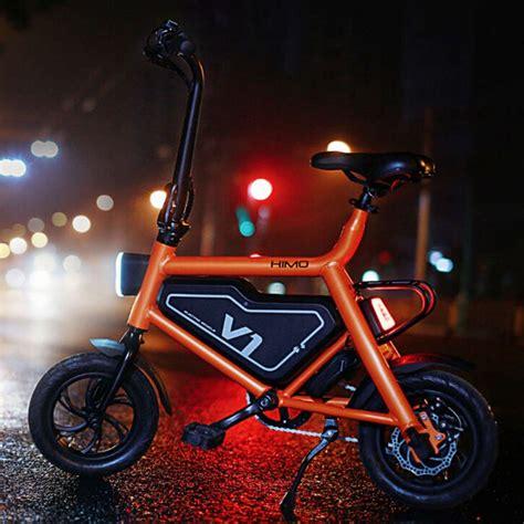 xiaomi himo  folding electric bicycle geekmaxicom