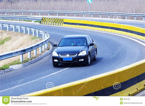 Luxury Car On The Highway Stock Images  Image 4832764