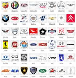 Car Company Brand Names Logos