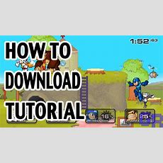 Super Smash Flash 2 How To Download Tutorial Youtube