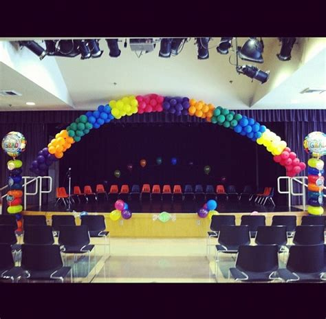 balloon decorations by me for my godsons pre k graduation