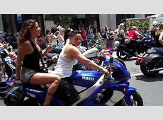 Dykes on Bikes NYC Gay Pride Parade 2010 YouTube