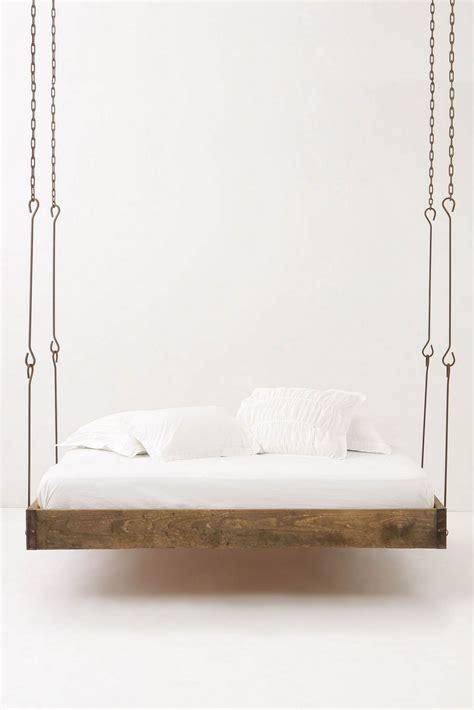 hanging beds barnwood hanging bed blue badger