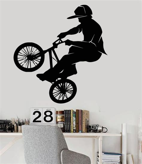 sport en chambre popular bicycle wall decal buy cheap bicycle wall decal