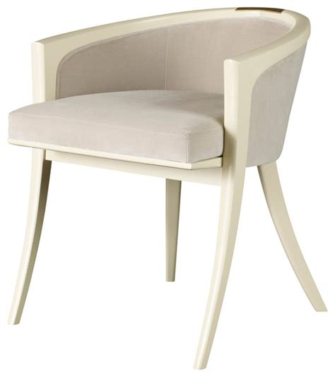 chair for vanity table diana vanity chair baker furniture modern armchairs